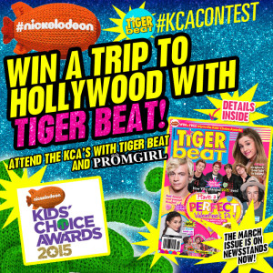 Win a Trip to the KCA's in Tiger Beat