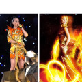 POLL: Who wore her Girl On Fire dress better?