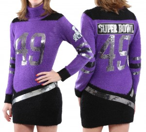 CONTEST: Tiger Beat is giving away this awesome NFL Super Bowl sweater dress designed by Katy Perry!
